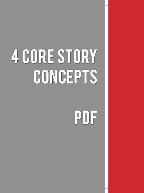 Core Story Concepts: The Four Essential Elements of Story Design