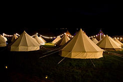 bell tent hire wedding
