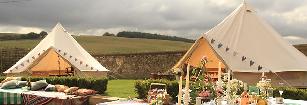 bell tent hire festival wedding
