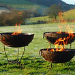 fire pit hire wedding