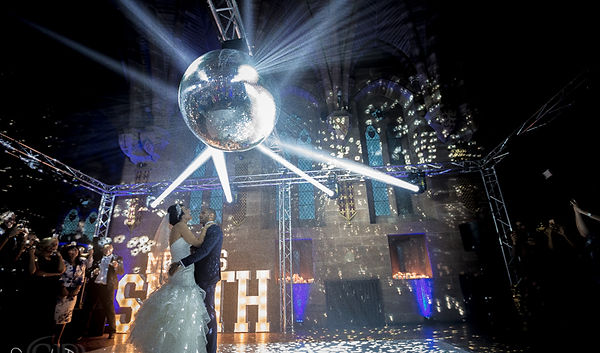 giant mirror ball hire
