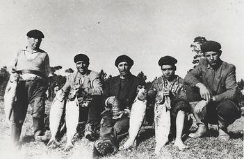 Artes de pesca de río Miño internacional