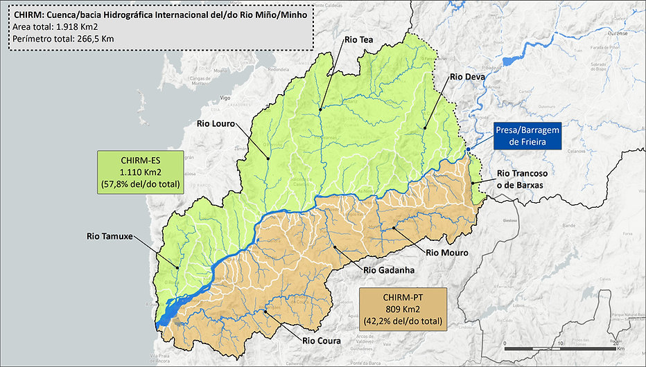 CHIRM rio Miño/Minho