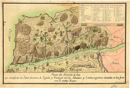 Troço internacioal do Minho (1807)