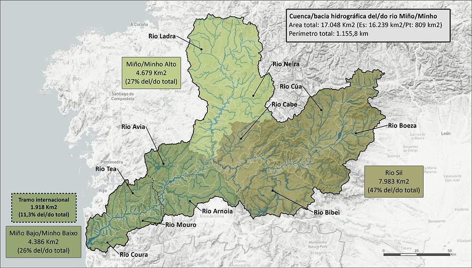 Cuenca Hidrográfia río Miño