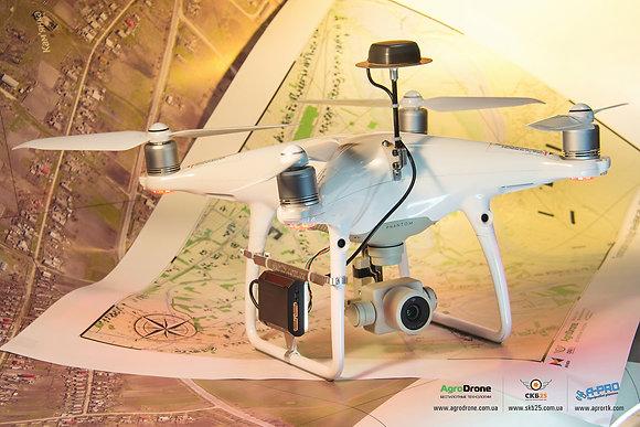 Доопрацювання дронів DJI до RTK / PPK професіональних систем