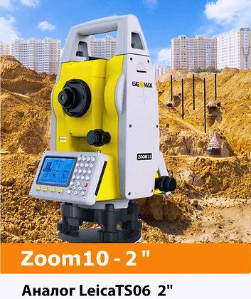 """Тахеометр Geomax Zoom 10 , точность 2 """" секунды"""