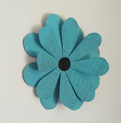 Turquoise Petals