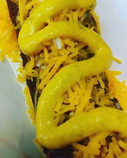 Try the #chilicheese with #jalapeno #mus