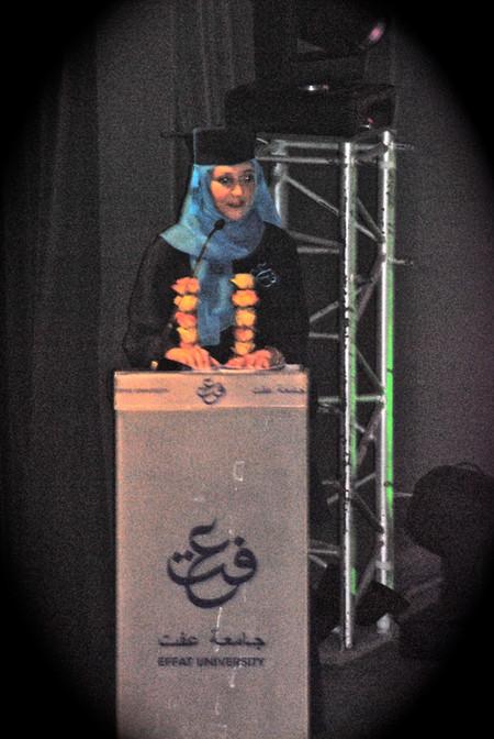 Effat University Graduation Speech
