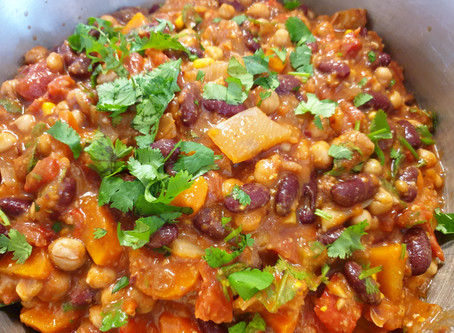 Vegetarian chilli!