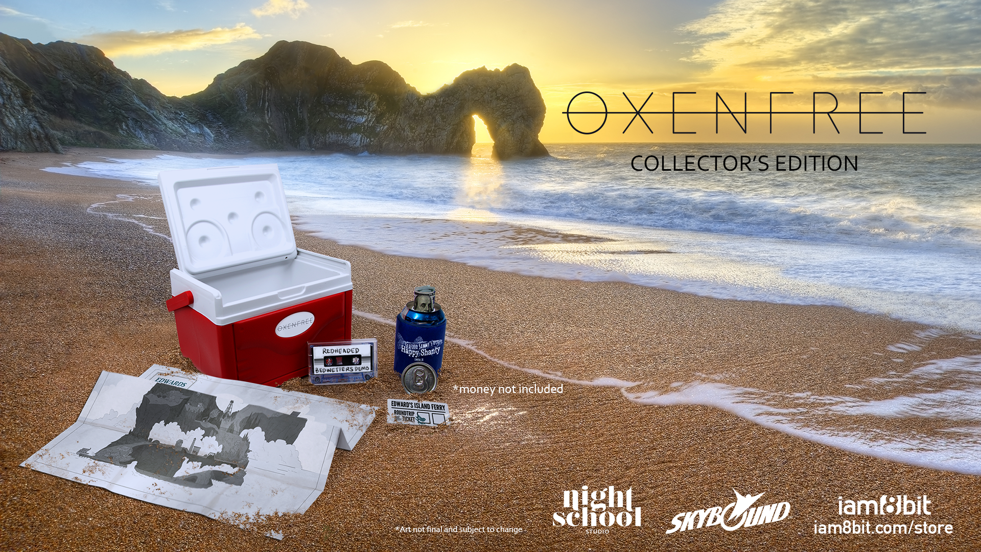 Oxenfree Collector's Edition