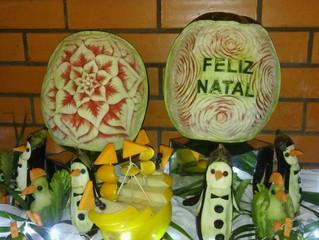 Ceia de Natal do Cabanas Hotel reúne famílias de amigos, colaboradores e convidados