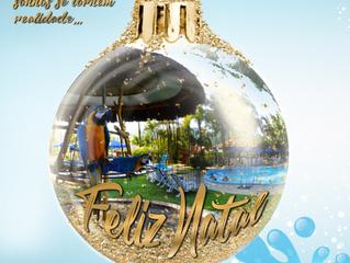 Natal nas Águas é celebrado nas Termas do Gravatal