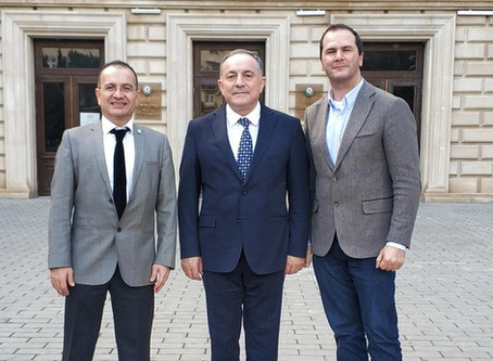 Azerbaijan Technical University Rector's Invitation & Visit