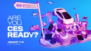 KODECO CES Teknoloji Fuarında!