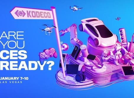 KODECO @ CES Tech Show!