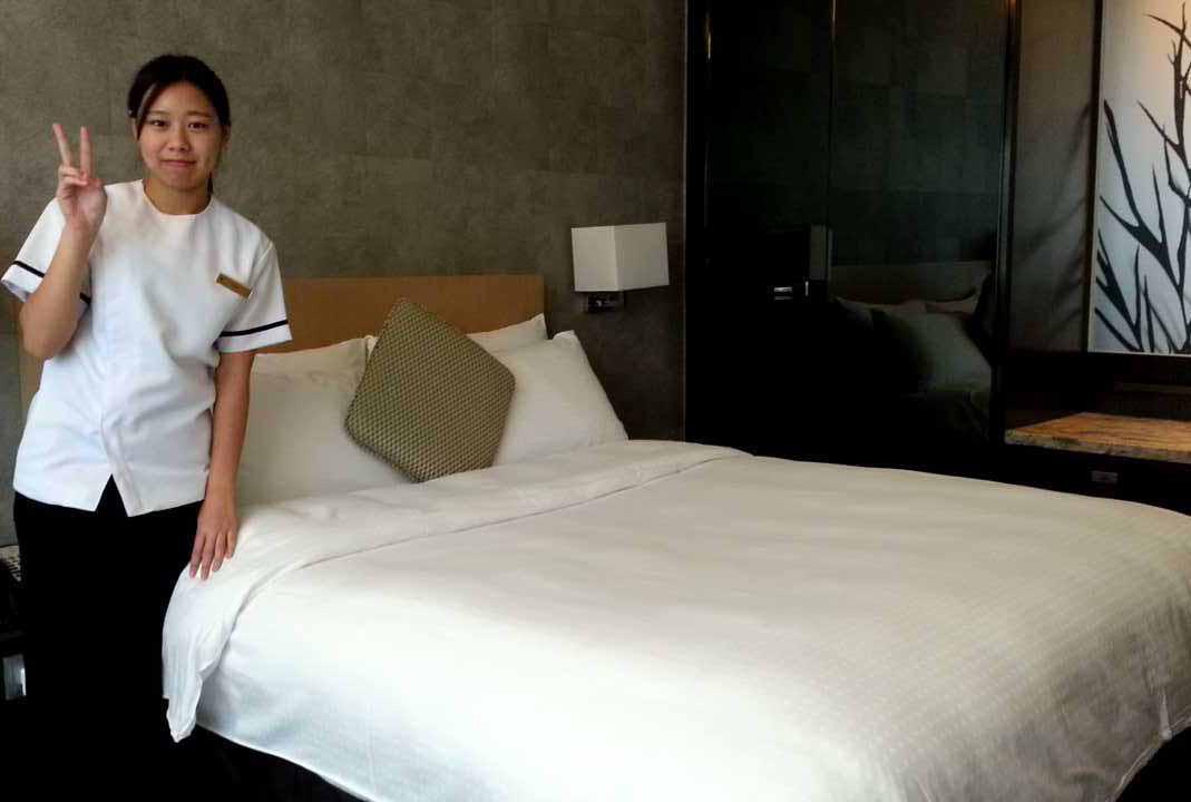 馬可孛羅酒店實習房務工作