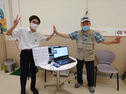 陳金群同學代表香港參加全國科技比賽
