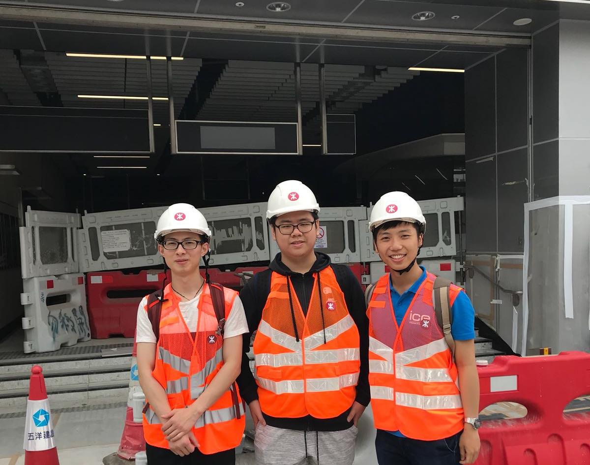土木工程學會香港分會第二次基建考察活動