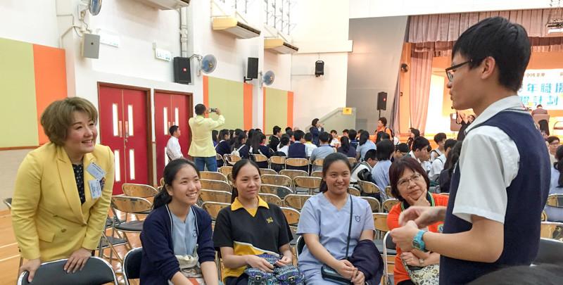 國際獅子總會中國港澳303區青少年職場體驗計劃分享會