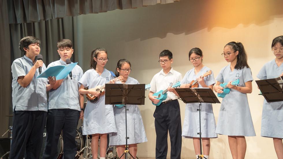 Ukulele合唱團表演