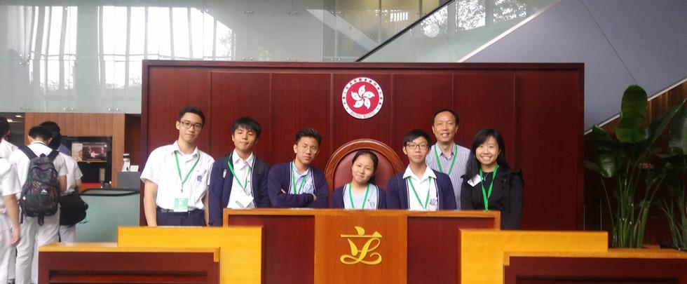 模擬立法會辯論及立法會教育之旅
