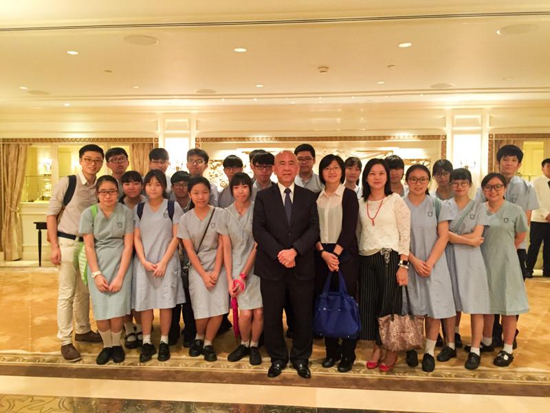 參觀香港半島酒店