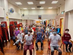 樂齡椅子瑜伽