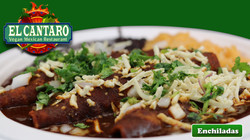 Enchiladas your choice of Chickin'