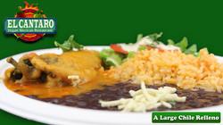 A Large Chile Relleno