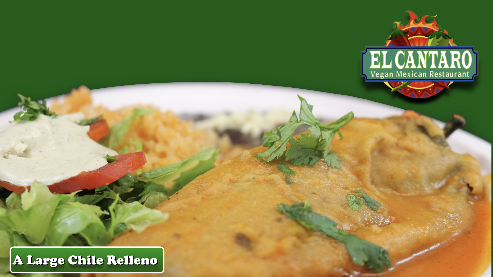 A Large Chile Relleno
