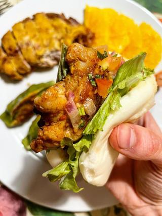 Chicken Satay Bao