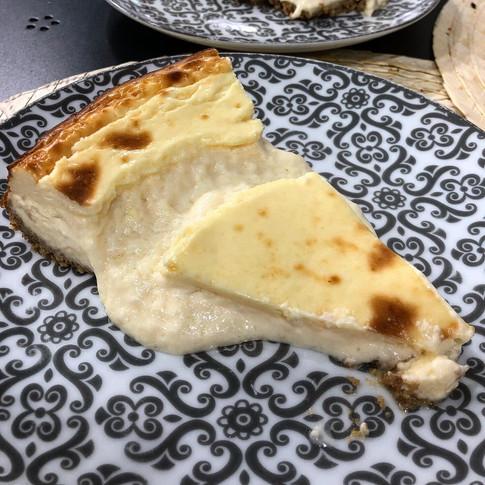 Tarta de quesos de temporada