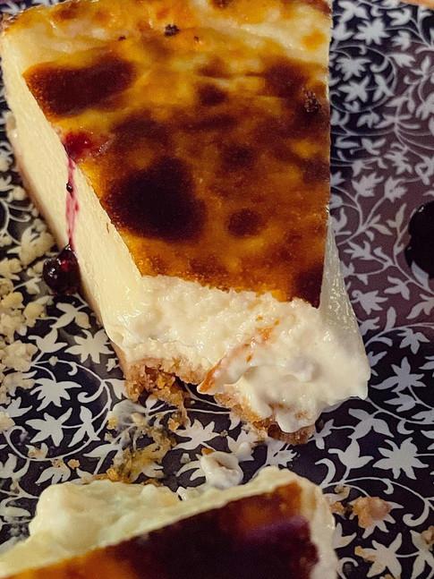 Tarta de queso Do Cebreiro y de cabra de Zamora