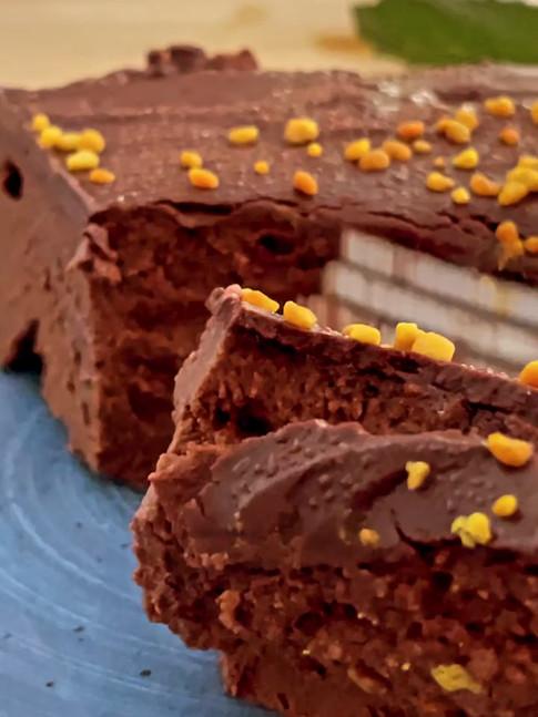 Tarta Choco-Pera Tarthélémy