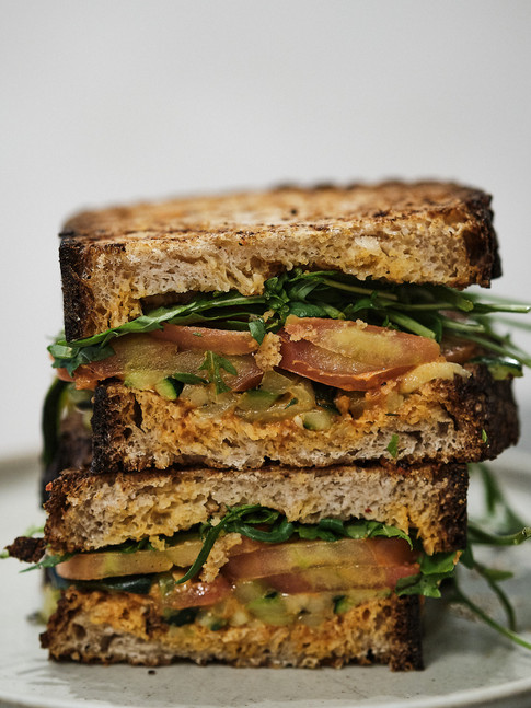 Sándwich vegetal