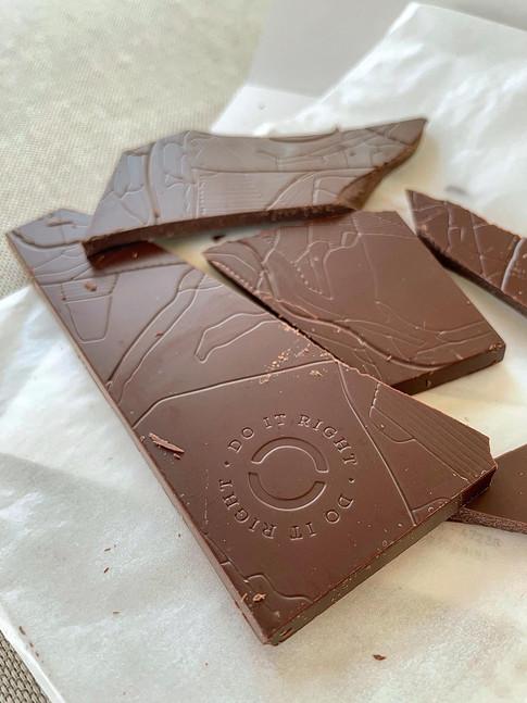 Chocolate con mantequilla