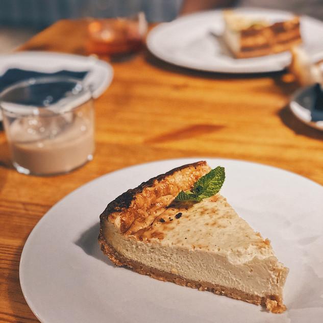 Tarta de queso Stilton