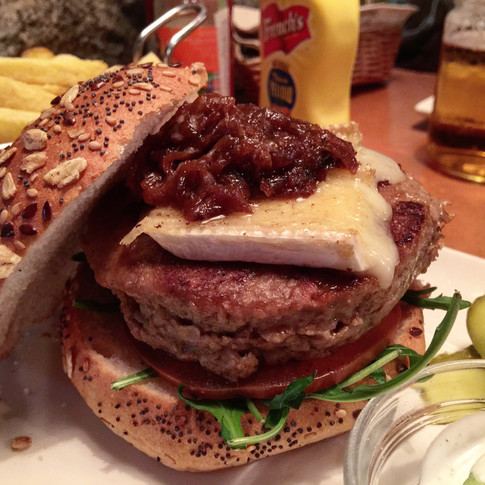 Hamburguesa Holala con carne vegana