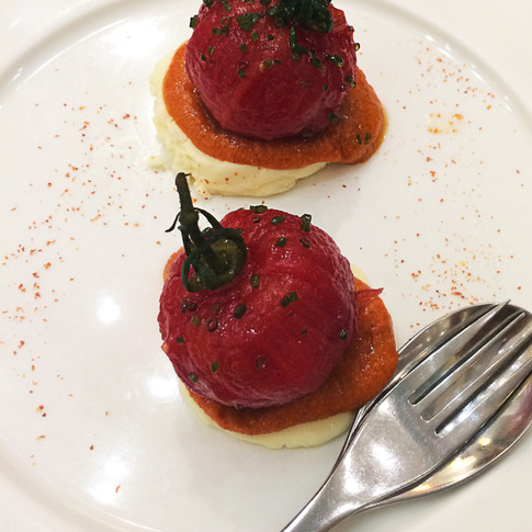 Tomates en almíbar