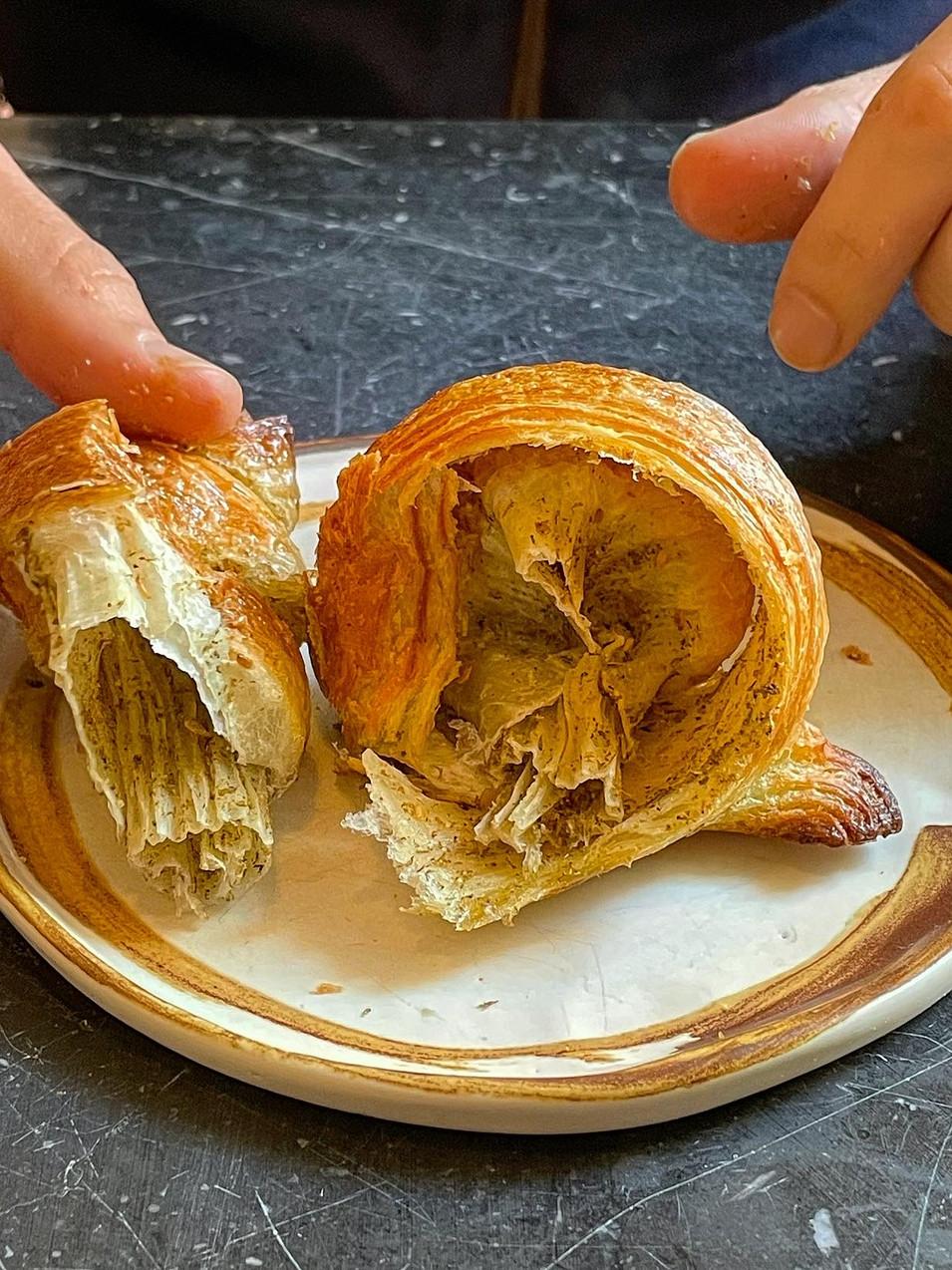 Croissant Zaatar