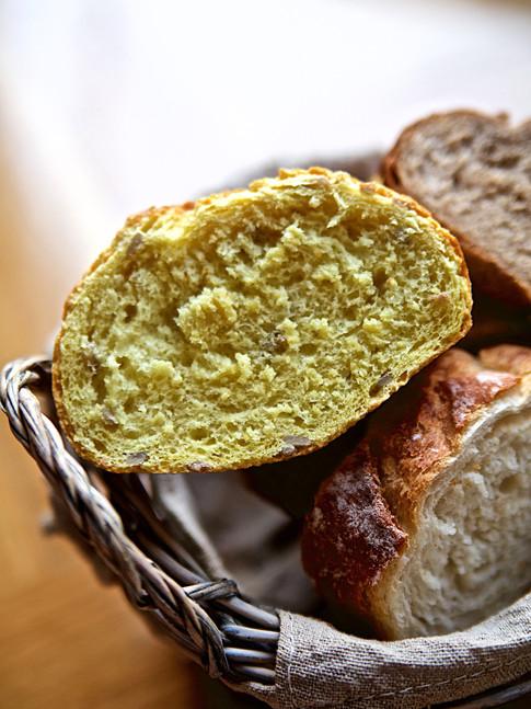 Pan de tres tipos