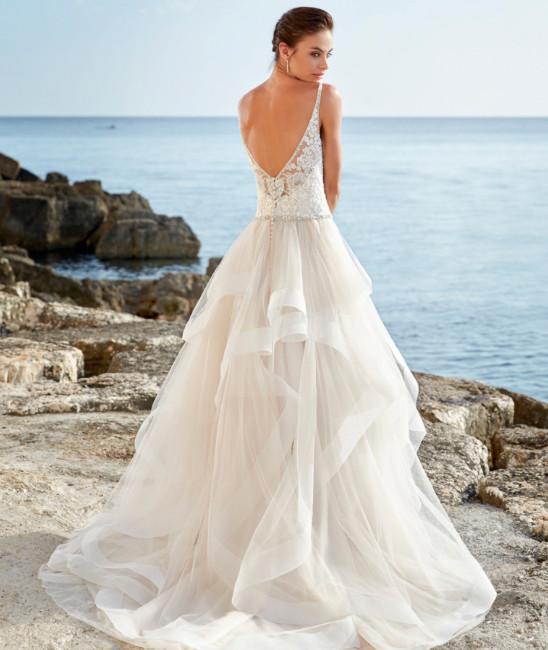 Ruffled Wedding Dress Dresses Arizona Westgate In Glendale Az Bride Studio