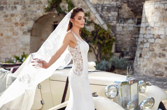 Crepe Wedding Dress Dresses Arizona Westgate In Glendale Az Bride Studio