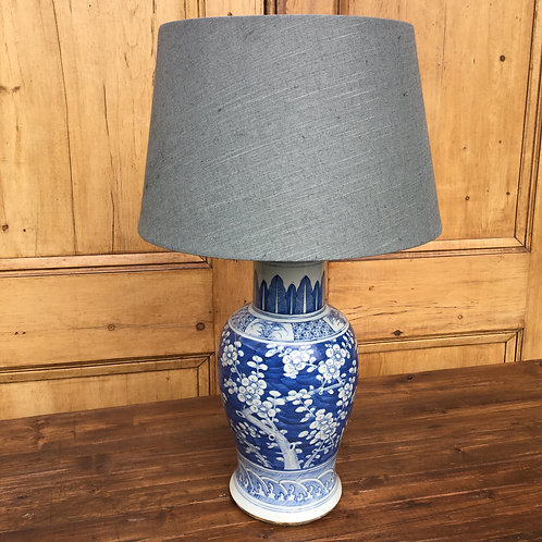 Fine Japanese Vase Table Lamp