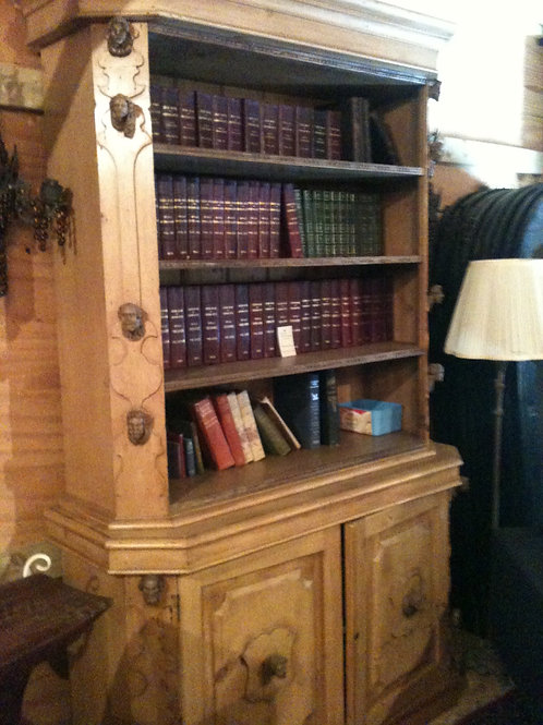 GORGEOUS AND RARE ANTIQUE BOOKCASE