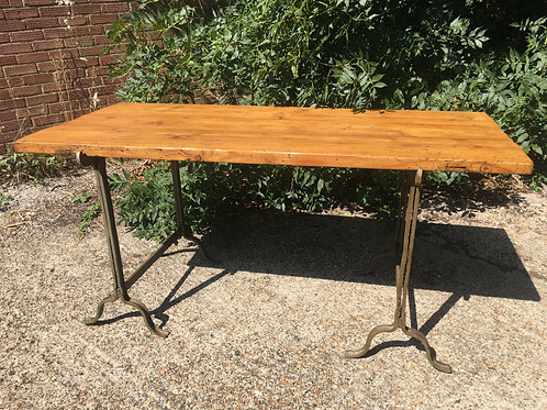 ANTIQUE BANDSTAND TABLE