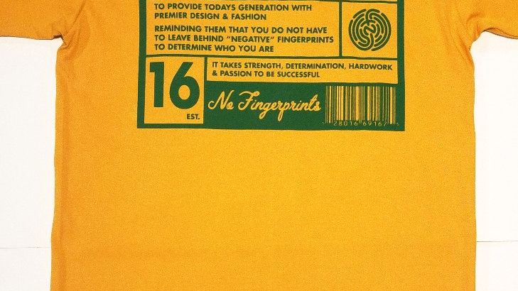YELLOW&GREEN MISSION TEE