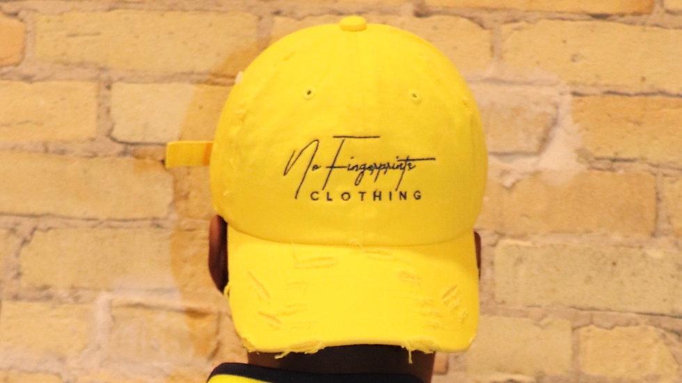 Signature Distressed Dad Hat